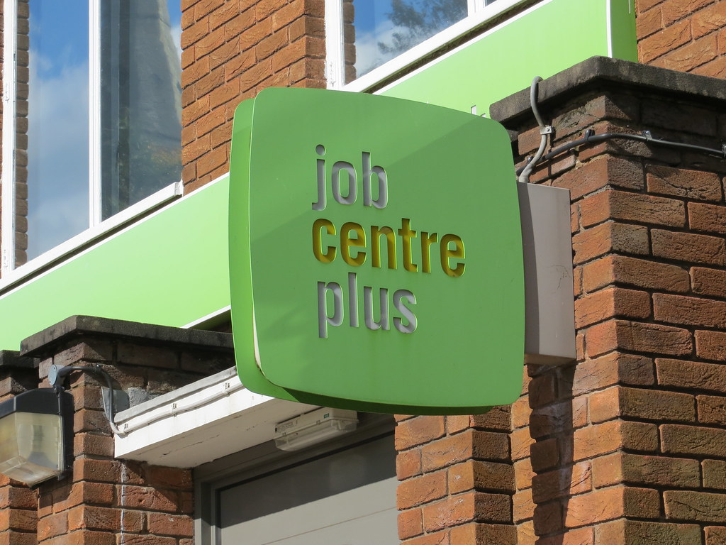 """Job Centre Plus"" by HelenCobain is licensed under CC BY 2.0. To view a copy of this license, visit https://creativecommons.org/licenses/by/2.0/"